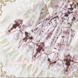 Skeleton Cross~ Gothic Lolita Printed Jumper