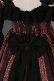 Byzantium~ Elegant Lolita JSK Dress with Front Open Design