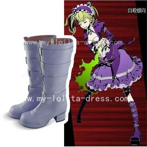 Beautiful Light Purple Boots
