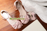 BTSSB Replica Sweet Lolita Plats Shoes with Bows out