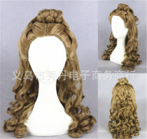 Super Brown 55cm Long Lolita Curly Wig For Princess