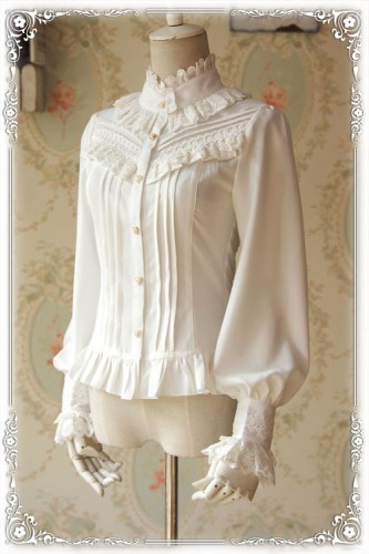 Infanta ~Strong Fragrance~ Thick Chiffon Lolita Blouse