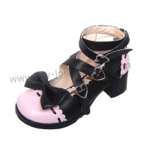 2 Colors Bows Lolita Shoes