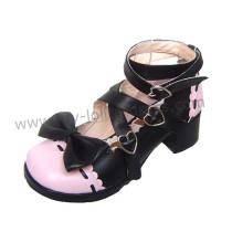 2 Colors Bows Lolita Shoes