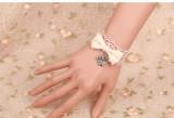 DIY Bows Lace Lolita Wristlace-out