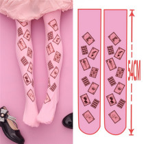 Alice's Poker Velvet Above Knee Lolita High Socks 54cm
