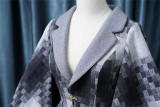Fantastic Wind/Rabbit Teeth Lolita ~ Retro Mosaic Winter Coat