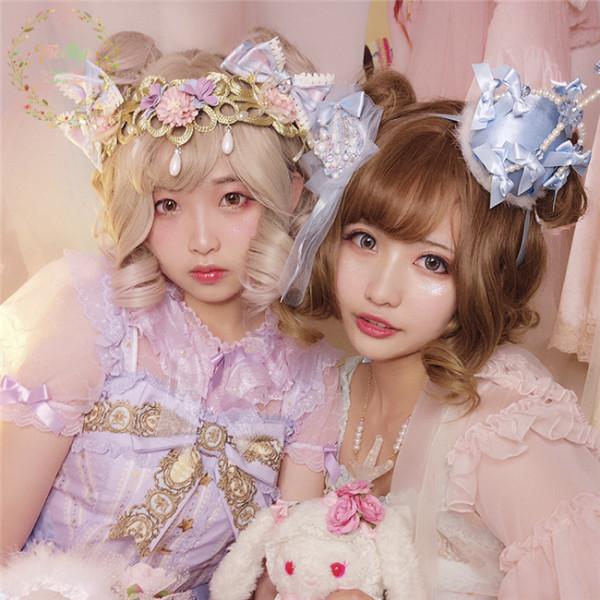 Alice Paradise~ Sweet Lolita Short Curls Wig