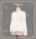 Little Fox Buying Gloves~ Winter Lolita Blouse