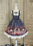Alice Girl ~Gingham Teddy Lolita JSK -Pre-order