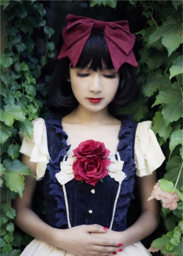 Infanta -Disney- Snow White Red Bow Headdress