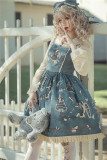 Infanta ~Broken Doll~ Lolita Printed Jumper -Ready Made