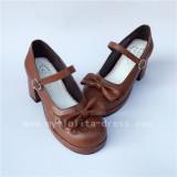 White Square Heels Lolita Shoes
