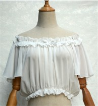 Sweet Chiffon Tailored Short Version Lolita Blouse