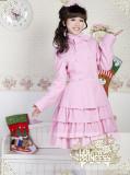Lolita Princes Snow Flying Cashmere Lolita Long Coat