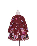Tommy Bear ~Circus~ Lolita Printed Jumper for Kids/Adults