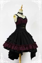 Night of The Blazing Angels ~Gothic Lolita Corset JSK Dress