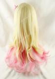 Blonde Pink Japanese Sweet Lolita Hairpiece