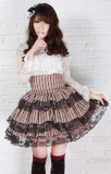 Janpanese Sweet Princess~High Waist Lolita Skirt off