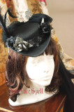 Surface Spell Lady in Black Vintage Wool Hat Black Size S - In Stock