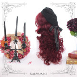 Dalao Home ~ Into Red Velvet~ Lolita Wigs 60cm