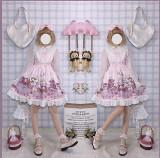 Afternoon Tea Rabbit Sweet Slight High Waist Jumper