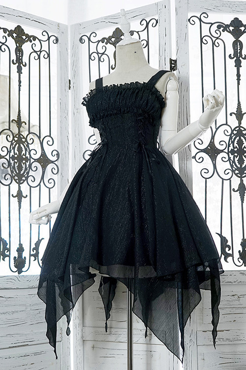 Night Of The Undead ~ Chiffon Gothic Lolita JSK