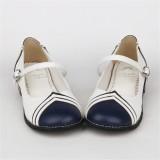 Angelic Imprint- Sailor Style Single Belt Lolita Anime Shoes