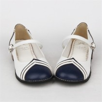 Angelic Imprint- Sailor Style Single Belt Lolita Anime Shoes