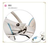 Angelic Imprint- Sweet Plate Buttons Single Belt Qi Lolita Heels Shoes