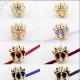 Sweet Dreamer Gold/Silver Rose Little Crown Lolita Headdress
