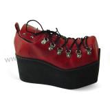 Wine High Platform Lolita Shoes