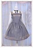 Magic Music School~ College Style Bass Embroidery Lolita JSK Dress