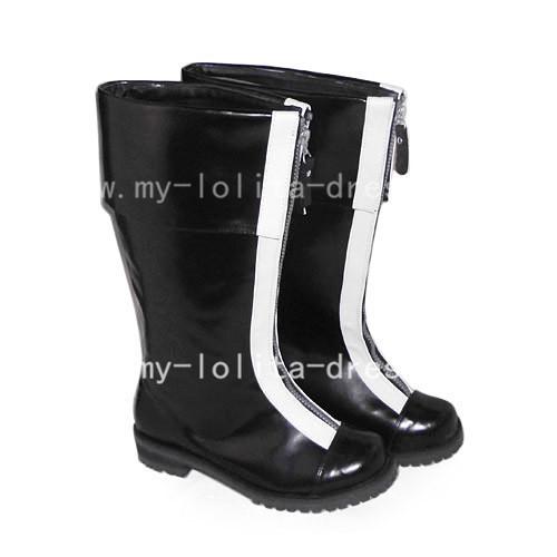 Gothic Black D Gray-Man Allen Walker Boots