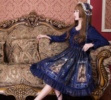Vintage Castle Lolita OP Dress