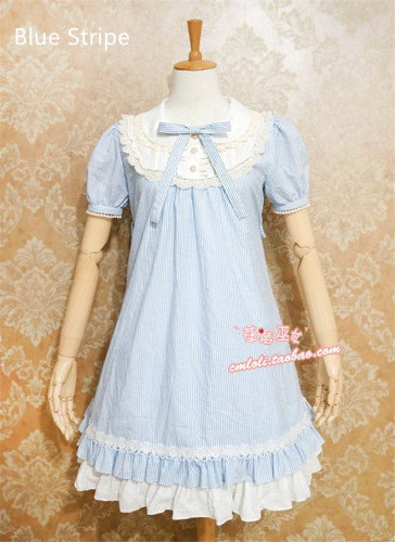 Cute Doll Chiffon Lolita Dress