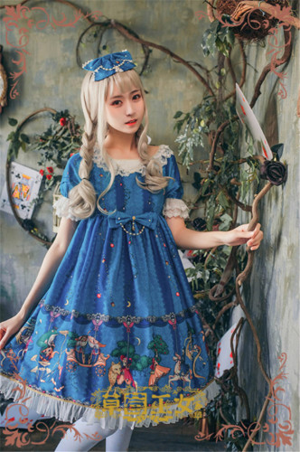 Fairytale Amusement Park~ Lolita OP Dress