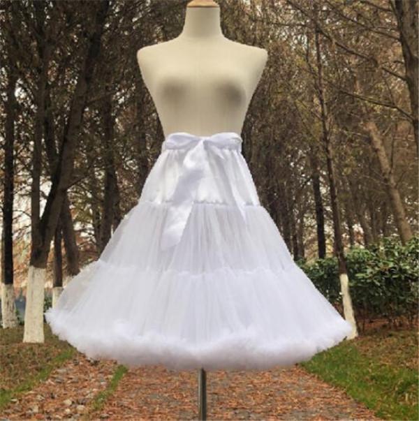 Cloud Spun Sugar~ Super Puff Lolita Petticoat 55cm - In Stock