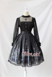 Cross Gothic Stand Collar Lolita Blouse