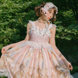 Doris Night Lolita ~Angel Clock Lolita Jumper -Special Price