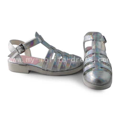 Classic Silver Lolita Sandals