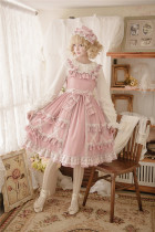 Little Dipper Cream Crispy~ Classic Lolita JSK Dress -Ready Made