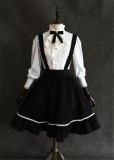 Little Devil~  Gothic Black Lolita Skirt + Cape