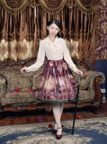 Doris Night ~The Age of Exploration~ Skirt Pink -In Stock