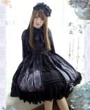 Nightmare Spells~ Lolita Long Sleeves OP Dress