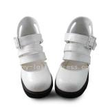 White Platform Sweet Lolita Girls Sandals