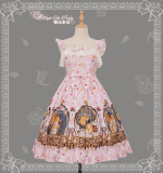 The Squirrel Couple's Afternoon~ Sweet Winter Dairywear Lolita JSK