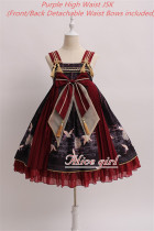 The Canes Return~ Qi Lolita JSK High/Normal Waist -Pre-order Black Normal  Waist JSK Size M - In Stock