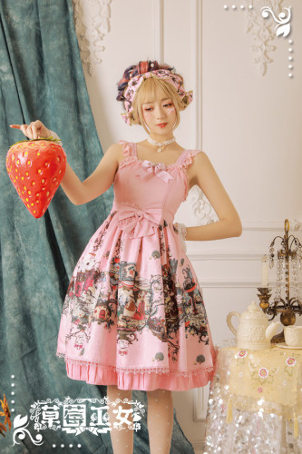 Strawberry Witch~ Chibor's Fairytale Dream Lolita JSK