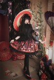 Hyakki Yakō*Sacrifice to Red Leaves~ Gothic Lolita Jumper Dress